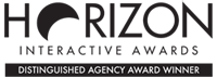 Horizon Interactive Awards - Distinguished Agency Award Winner